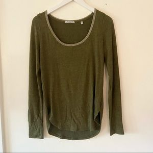 Abercrombie & Fitch Olive Green Basic Top